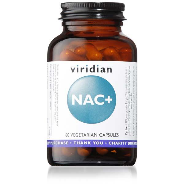 Viridian NAC+ 60 Veg Capsules