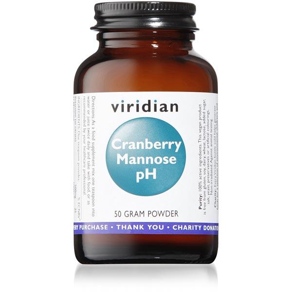 Viridian Cranberry Mannose pH Powder - 50g Scotland