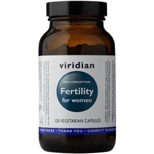 Viridian Fertility for Women (pro-conception) - 60 Capsules Scotland