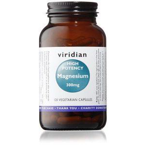 Viridian Hi-Potency Magnesium 300mg - 120 Capsules Scotland