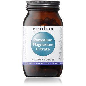 Viridian Potassium (99mg) Magnesium Citrate (50mg) - 90 Capsules Scotland